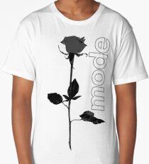Mode Rose Black Long T-Shirt