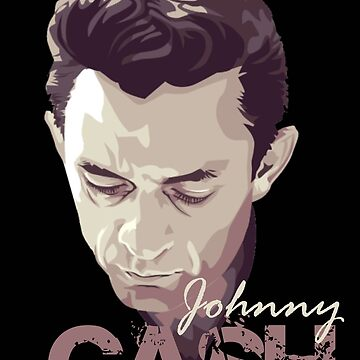 johnny cash by luffyadmiral