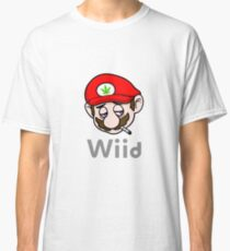 Stoned Mario Wiid Classic T-Shirt