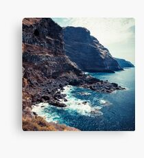 Wild Coast - Tijarafe - La Palma - Canary Islands Canvas Print