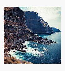 Wild Coast - Tijarafe - La Palma - Canary Islands Photographic Print
