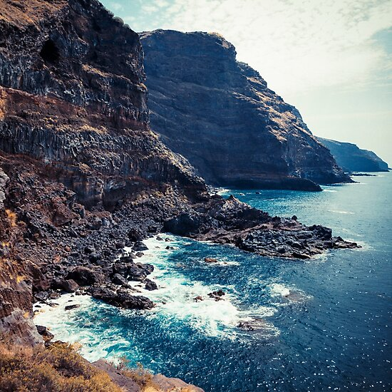 Wild Coast - Tijarafe - La Palma - Canary Islands by Dirk Wuestenhagen
