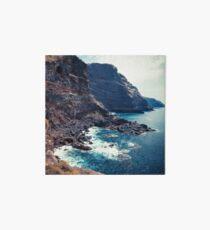 Wild Coast - Tijarafe - La Palma - Canary Islands Art Board