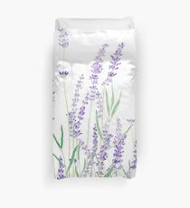 purple lavender  Duvet Cover