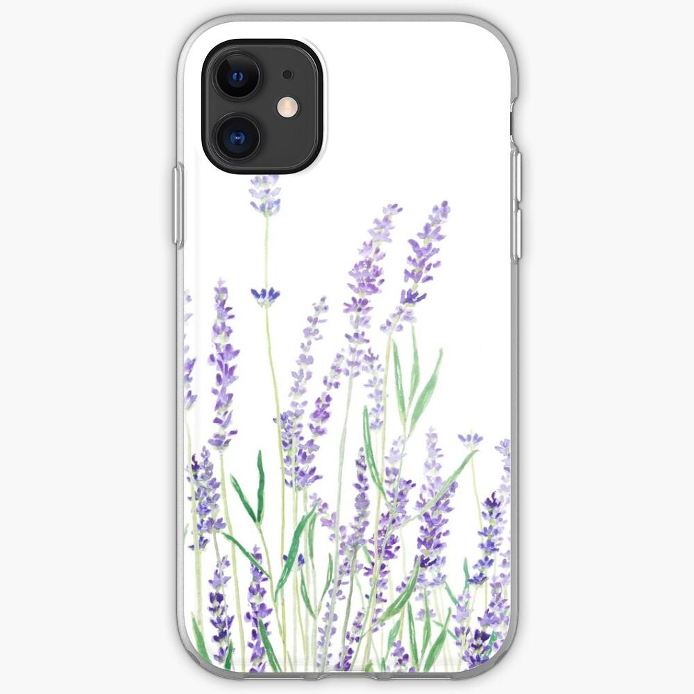 purple lavender  iPhone Case & Cover