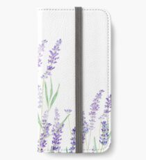 purple lavender  iPhone Wallet/Case/Skin