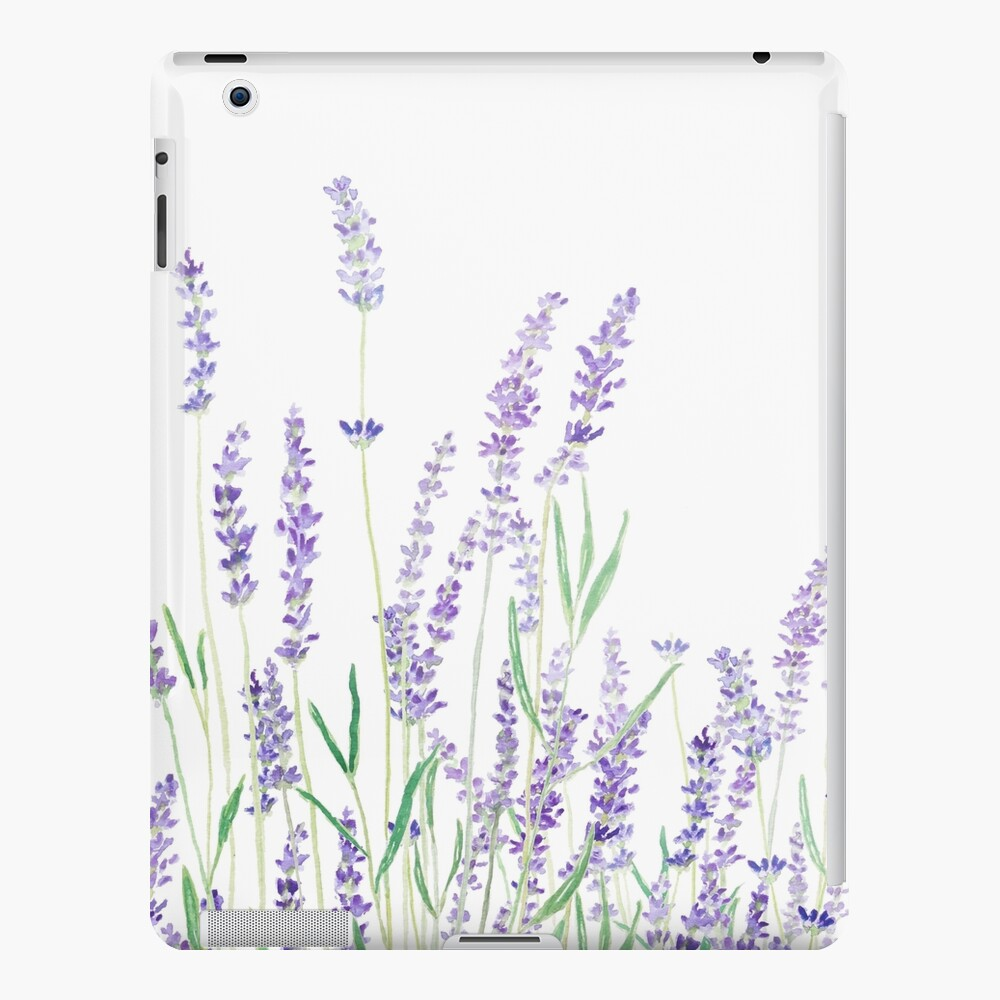 purple lavender  iPad Case & Skin