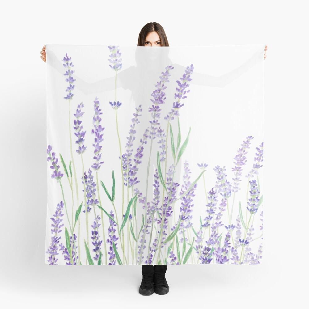 purple lavender  Scarf