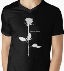 Enjoy the Silence style Rose white T-Shirt