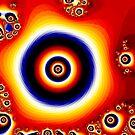 Fire of The Eye Fractal Design  by Bob Davies