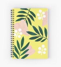 Yellow Mellow Spiral Notebook