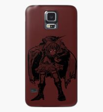 Sekibanki stencil Case/Skin for Samsung Galaxy