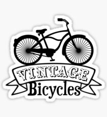 Vintage Bicycles Sticker