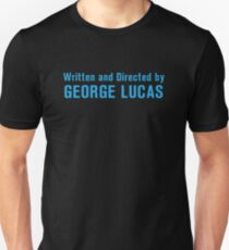 Written and Directed by George Lucas Slim Fit T-Shirt