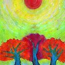 The Sun Three by Wojtek Kowalski