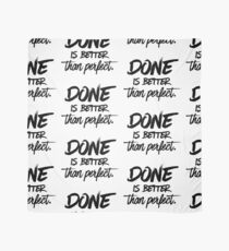Done is better than perfect Scarf