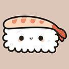 Cute prawn sushi by peppermintpopuk