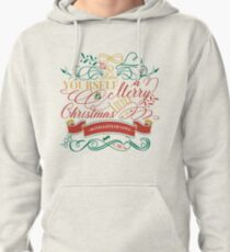 Have Yourself A Merry Little Christmas Love Typography Pullover Hoodie