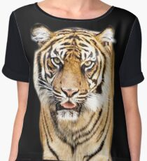 Tiger Women's Chiffon Top