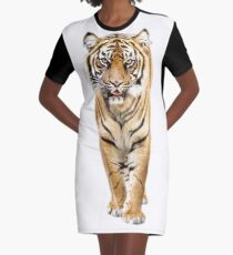 Tiger Graphic T-Shirt Dress