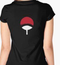 Uchiha Clan logo  Women's Fitted Scoop T-Shirt