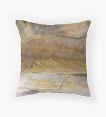 Yellow Ochres, Cania Gorge National Park, Central Queensland  Throw Pillow