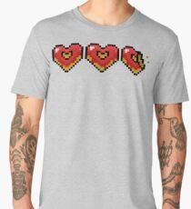 Pixel Doughnut Hearts Men's Premium T-Shirt