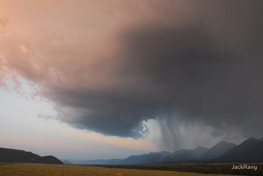 A Wave of Teton Rain by JackRavy