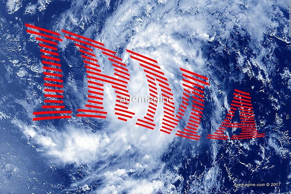Hurricane Irma by ayemagine