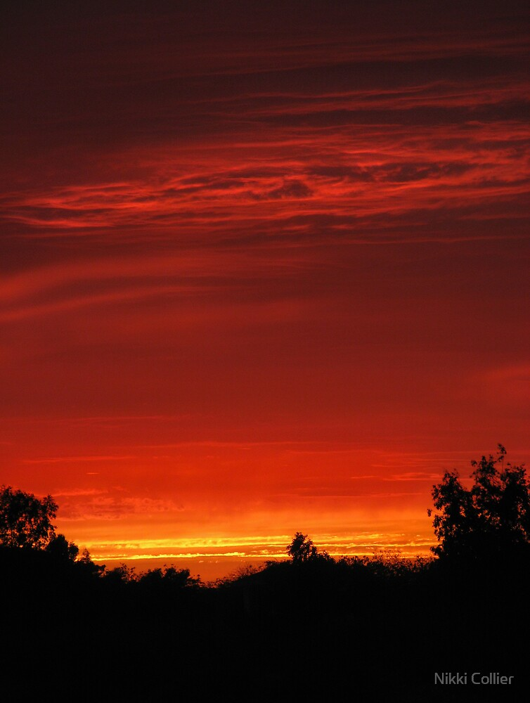 August Sunset by Nikki Collier