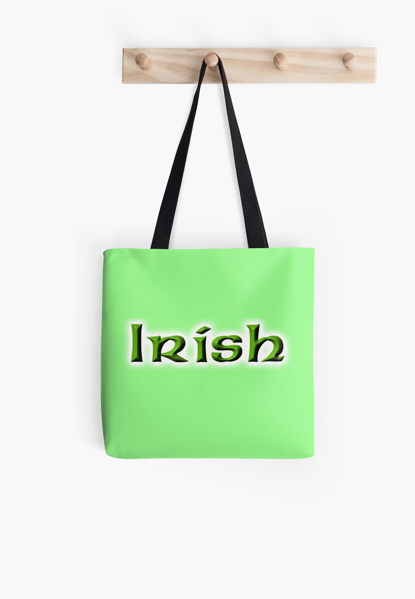 IRISH, Ireland, Eire, Emerald Isle, St Patrick's Day by TOM HILL - Designer