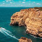 Spectacular Coastal Boat Trip in Teal and Orange by Georgia Mizuleva