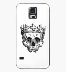 SKULL KING, DEATH, King of the Dead, Skull, Crown, on WHITE Case/Skin for Samsung Galaxy