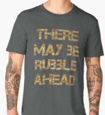 Builders, D.I.Y, DIY, Extension, Extend, Rubble, House builders, Handyman, Demolition, on BROWN Men's Premium T-Shirt