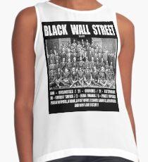 Black Wall Street Contrast Tank