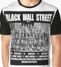 Black Wall Street Graphic T-Shirt