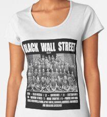 Black Wall Street Women's Premium T-Shirt