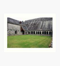Holycross Abbey Art Print