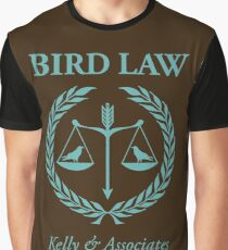 Bird Law Graphic T-Shirt
