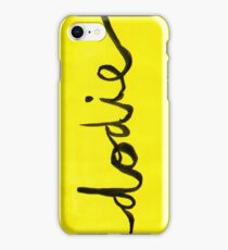 Yellow Dodie phone case iPhone Case/Skin