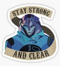 Jaal Mass Effect Andromeda Sticker