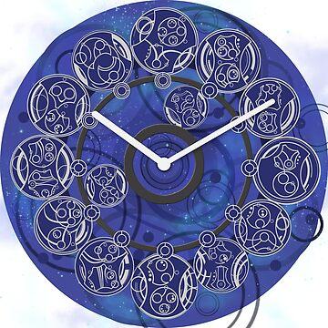 Gallifreyan Clock by MrSaxon101