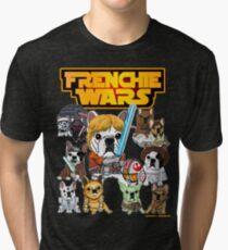 FRENCHIE WARS Tri-blend T-Shirt