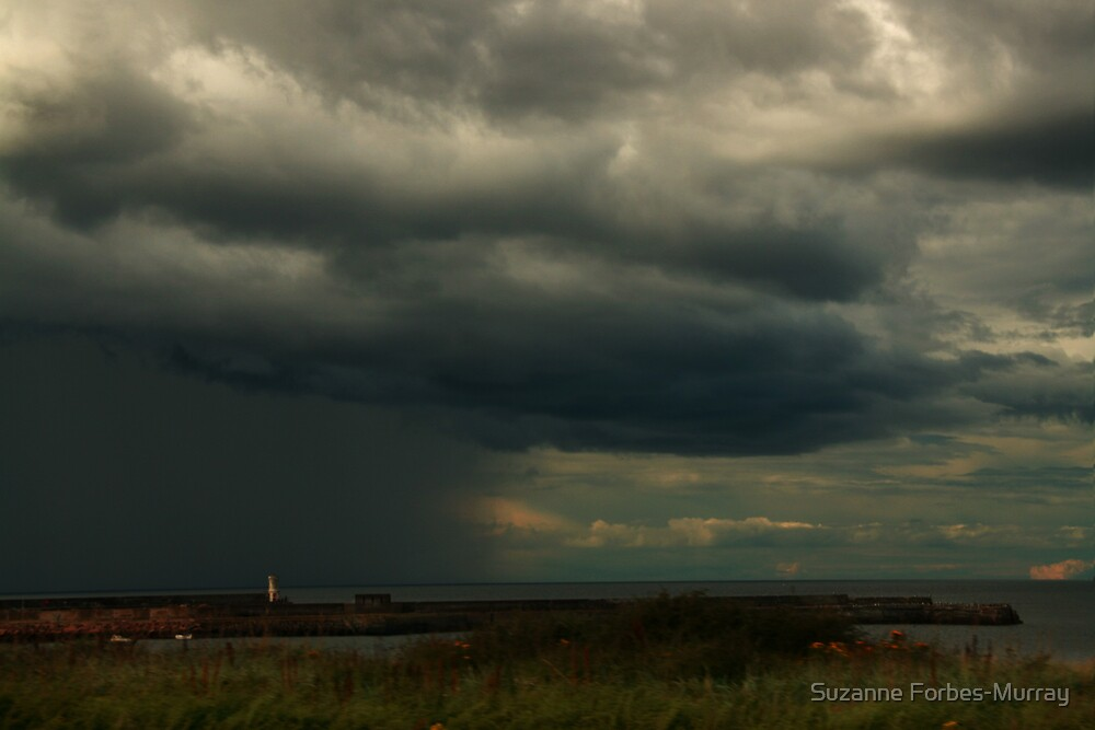Storm near Rosehearty by Suzanne Forbes-Murray