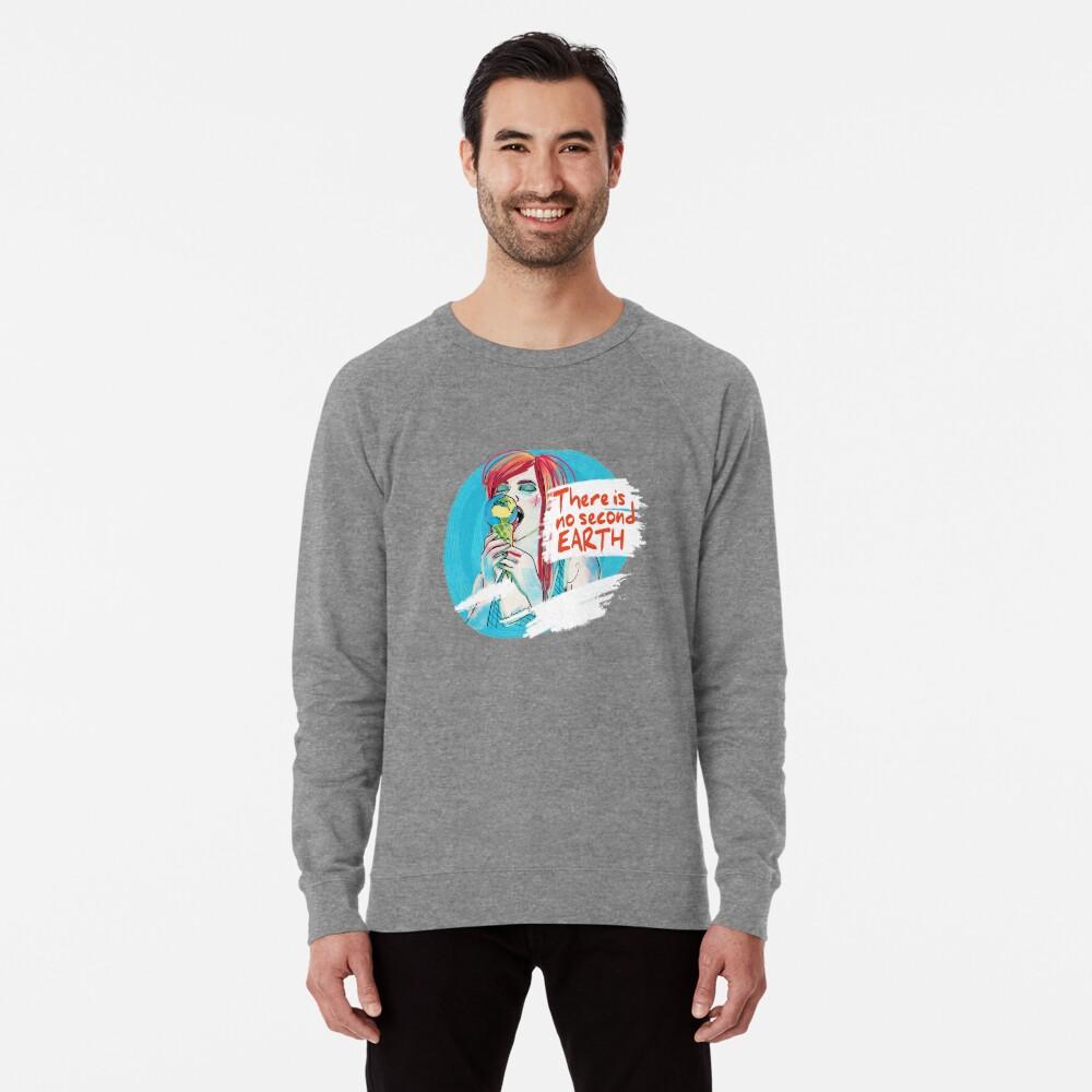 No second Earth Leichtes Sweatshirt