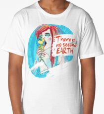 No second Earth Long T-Shirt