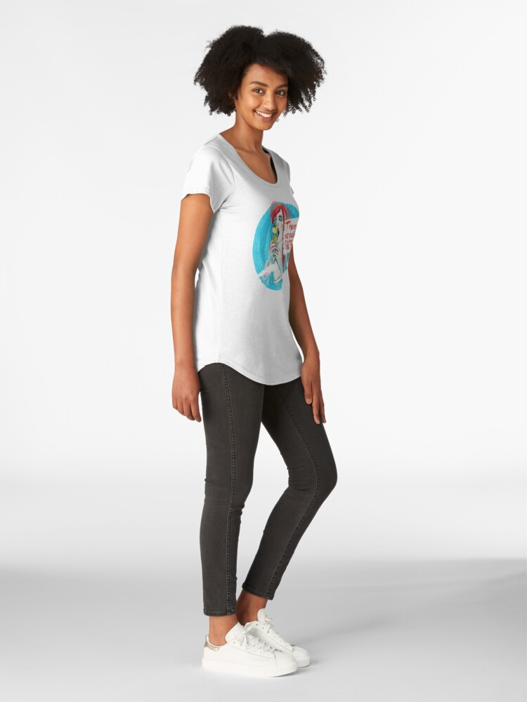 Alternative Ansicht von No second Earth Frauen Premium T-Shirt