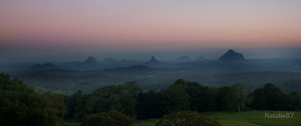 Glasshouse Mountain by Natalie87