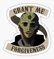 Thane Krios Mass Effect Sticker