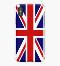 British, Union Jack, PORTRAIT, Flag, 1;2, UK, GB, United Kingdom, Pure & simple  iPhone Case
